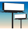 Blank Billboard vector image
