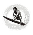 surfer pro vector image vector image