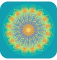 Bright ethnic mandala vector image
