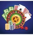 Casino icon desin vector image