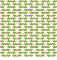 Christmas decorative pattern vector image