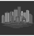 Modern City Skyline vector image
