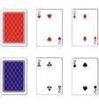 Playing card set 05 vector image