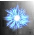 Beautiful rays of light burst EPS 10 vector image