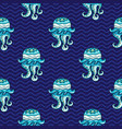 ocean pattern seamless texture series vector image