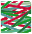 pattern colorful ribbon strips xmas vector image