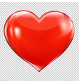red heart symbol vector image