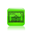 roma icon vector image vector image
