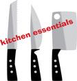 Kitchen Essentials vector image