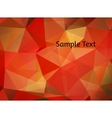 Abstract background Stylized gradient polygons vector image