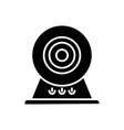web cam - online camera icon vector image