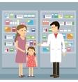 Pharmacist Woman Kid vector image