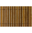 Wood panels vector image vector image