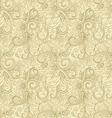 Creative hand drawn seamless pattern vector image
