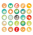 generic symbols vector image vector image