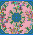 on colored background abstract pattern page for vector image