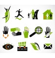 Collection creative icon vector image vector image