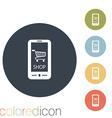 symbol cart online store vector image