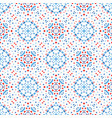 flower pattern blue background boho vector image
