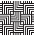 Square chevron pattern background vector image