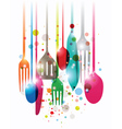 Have a nice meal vector image