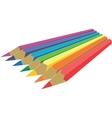 Pen set color 1 vector image