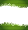 Snowflakes Border for Happy New Year Space for vector image