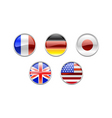 g5 world flags vector image vector image