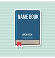 Book icon design vector image