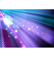 Party and disco background - ray light vector image