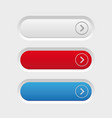 empty button set vector image