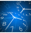 Time abstract background vector image