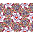 Abstract seamless pattern with hearts vector image