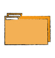 color folder file to save documents information to vector image