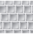 Seamless mosaic from gray squares vector image