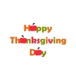 Thanksgiving Day  flat vector image vector image