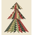 Christmas tree for scrapbooking 3 vector image