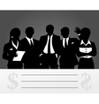 business a command vector image vector image