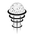 Circuit board sphere vector image vector image