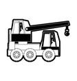 crane vector image