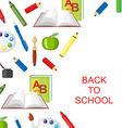 school background3 vector image