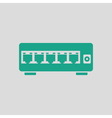 Ethernet switch icon vector image vector image