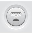 Customer Reviews Icon vector image