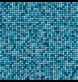 mosaic tile background aqua colours vector image