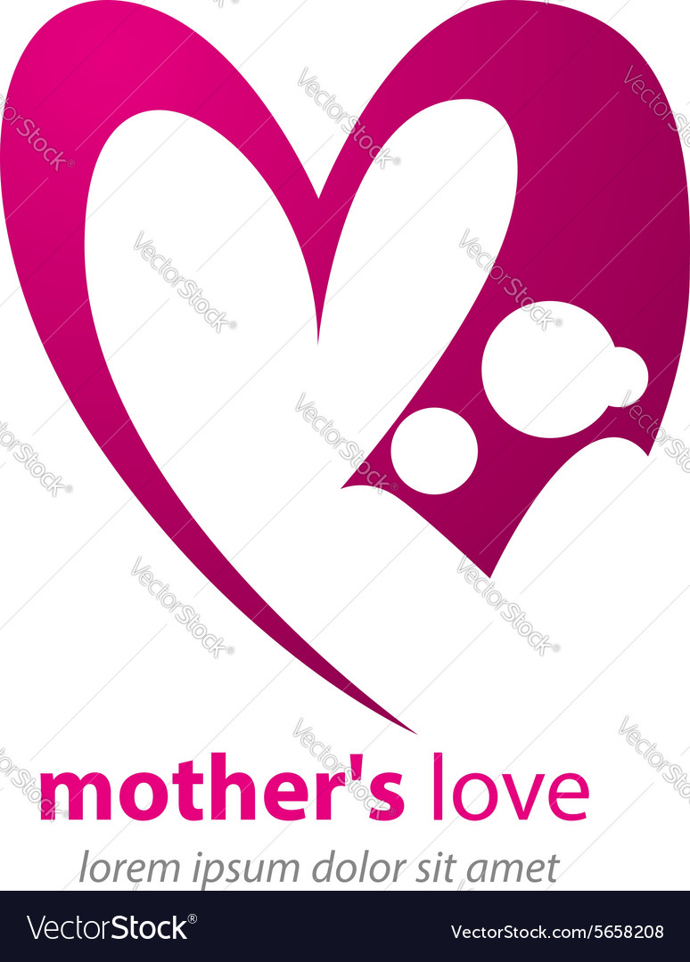 Mom love vector