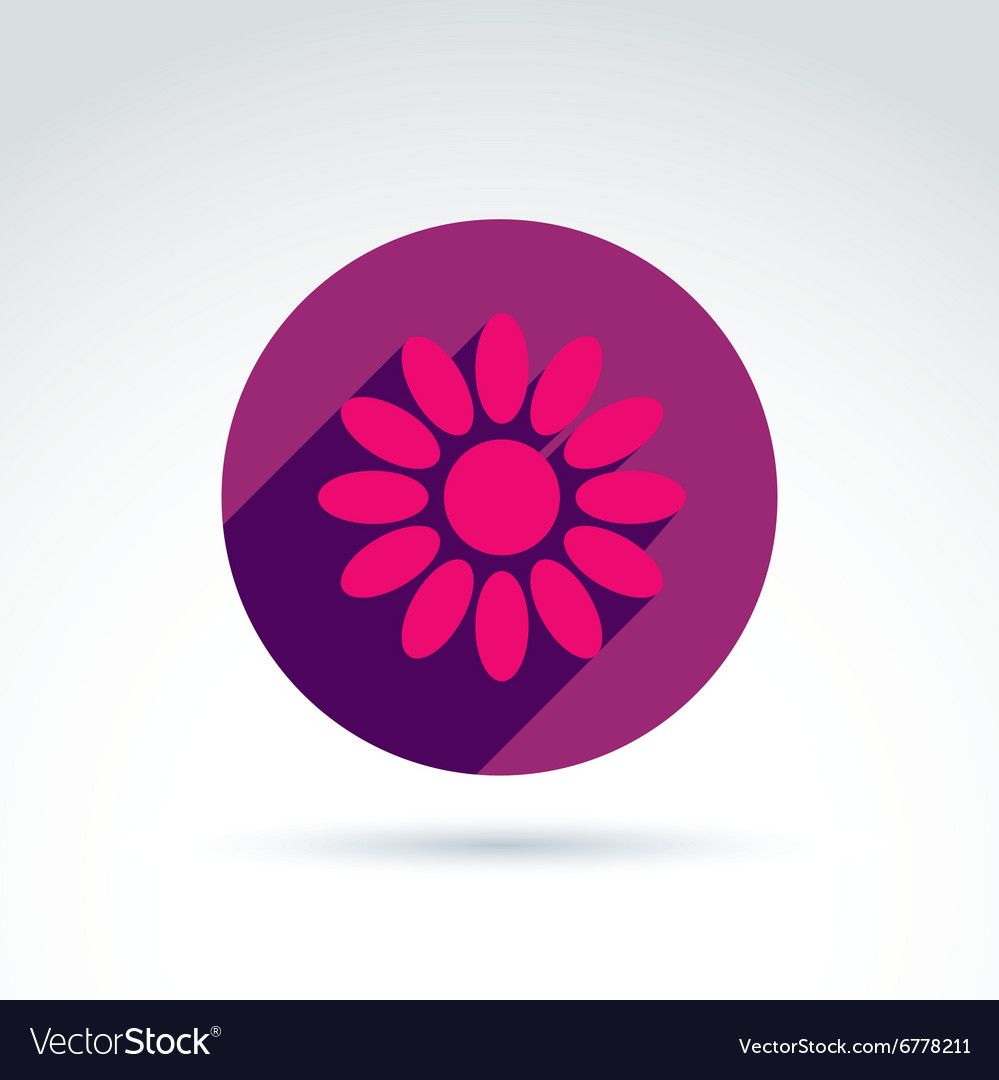 Nature and environment conservation theme purple vector