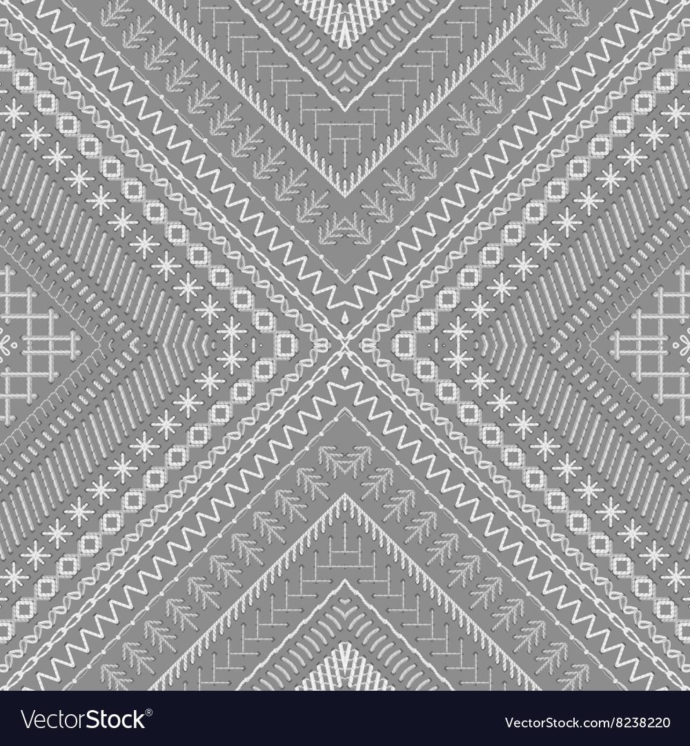 Seamless ethnic texture vector