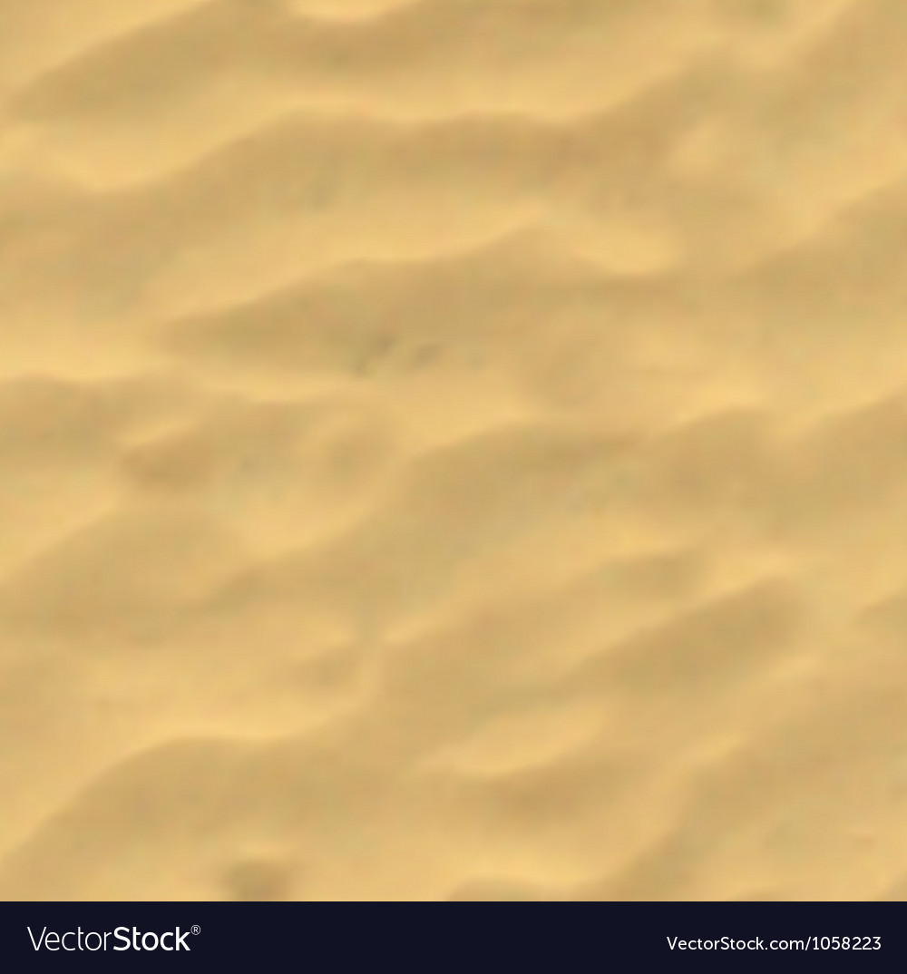 Beach sand background mesh vector
