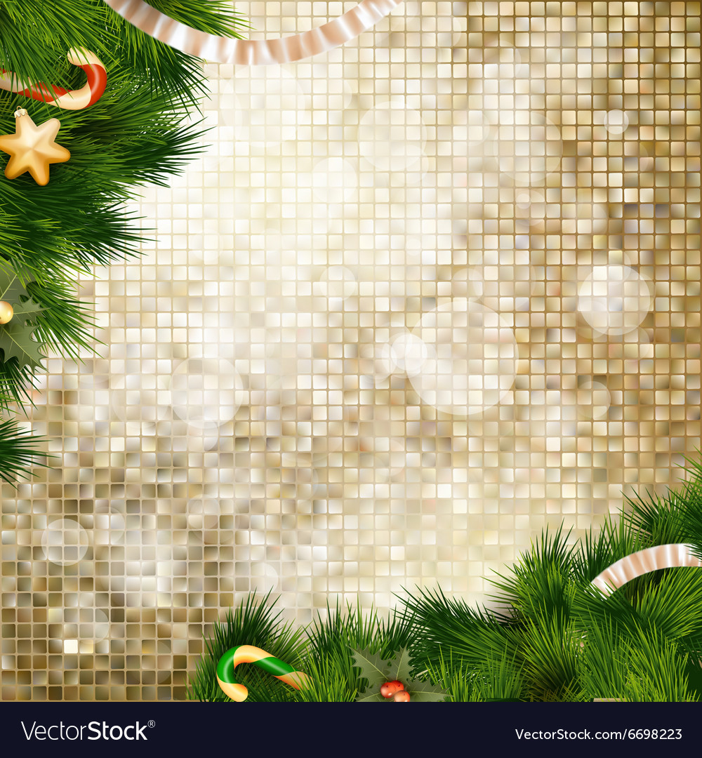 Christmas decoration eps 10 vector