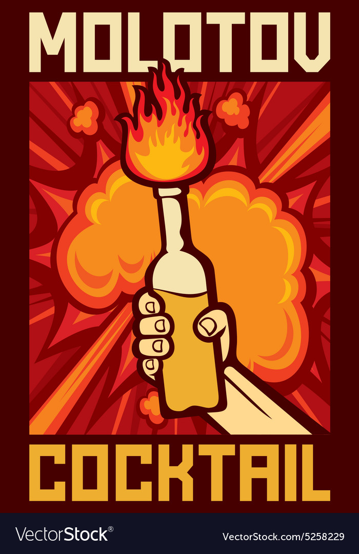Molotov cocktail vector